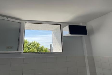 Centrale de ventilation positive à Lille.