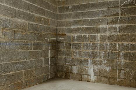 Humidité dans un mur enterré à Mont-de-Marsan, Bordeaux, Saintes et Dax