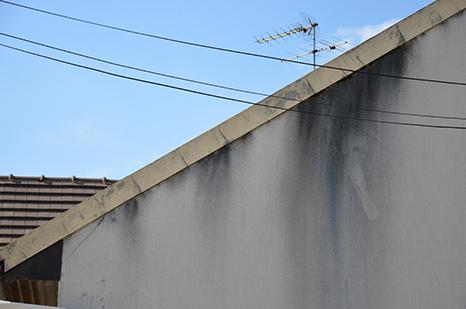Façade dégradée par l'humidité à Dax, Bordeaux, Libourne et Mont-de-Marsan