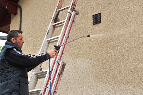 Traitement de l'humidité sur la façade à Royan, Saintes, Cognac et Libourne