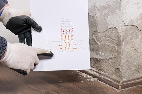 Traitement de l'humidité dans un mur à Bordeaux, Cognac, Royan et Mont-de-Marsan