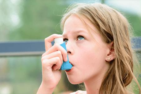 L'asthme est une conséquence de l'humidité - Image mobile