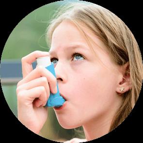 L'asthme est une conséquence de l'humidité