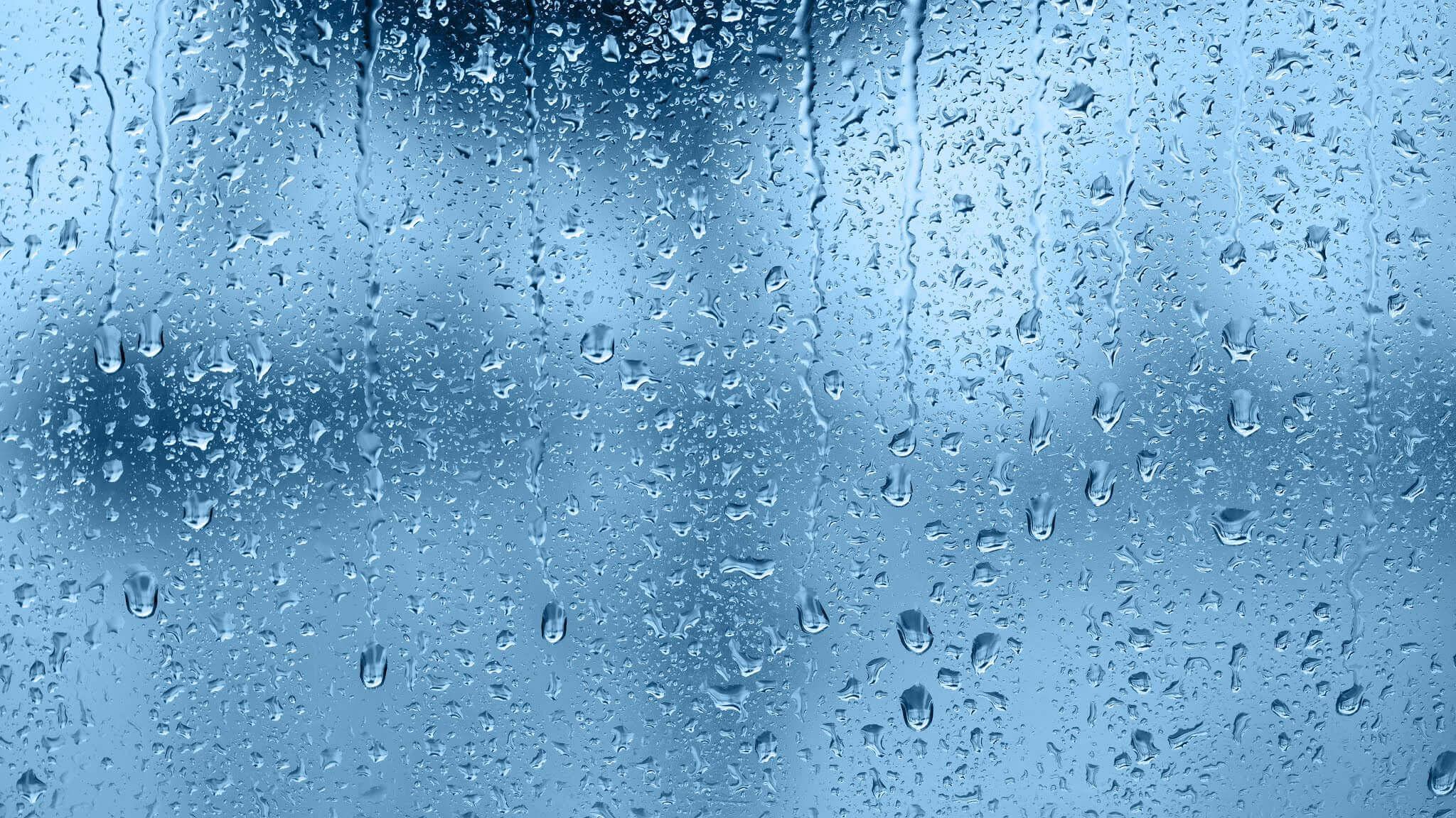 Condensation et buée sur la vitre