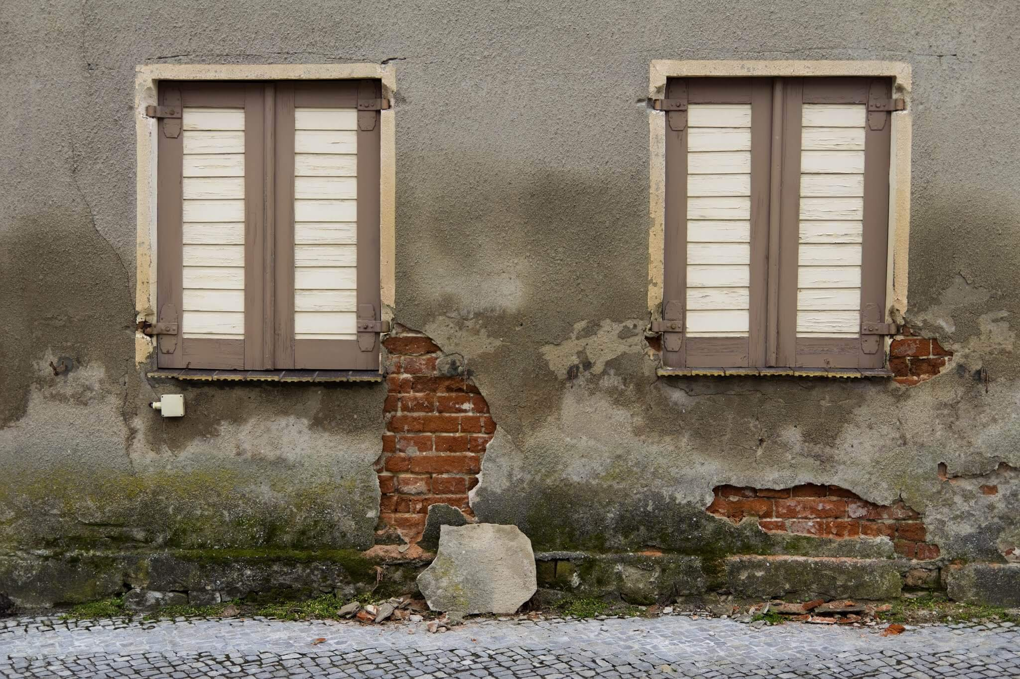 Humidité de la façade - Image mobile