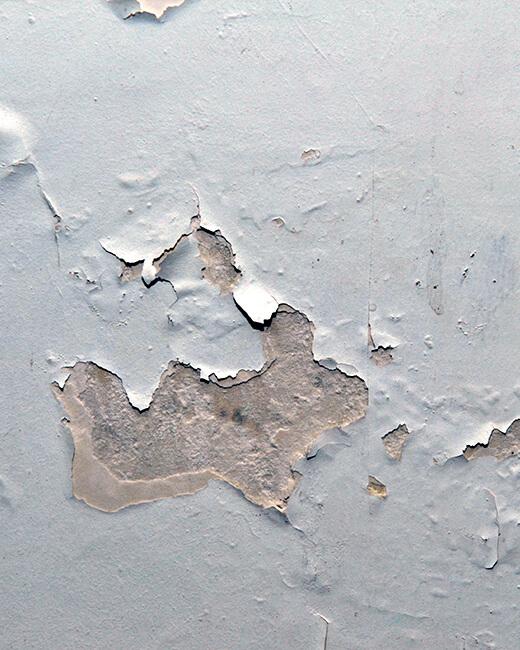 Conséquences de l'humidité sur la peinture