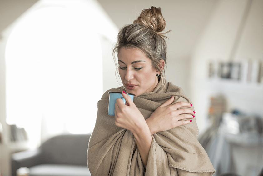 Humidité et sensation de froid - Image mobile